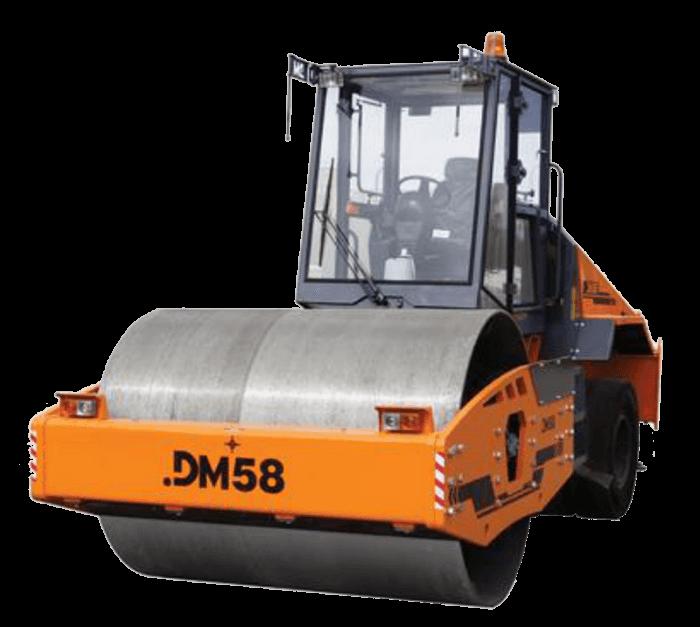 Комбинированный дорожный каток DM-58 отечественного производства