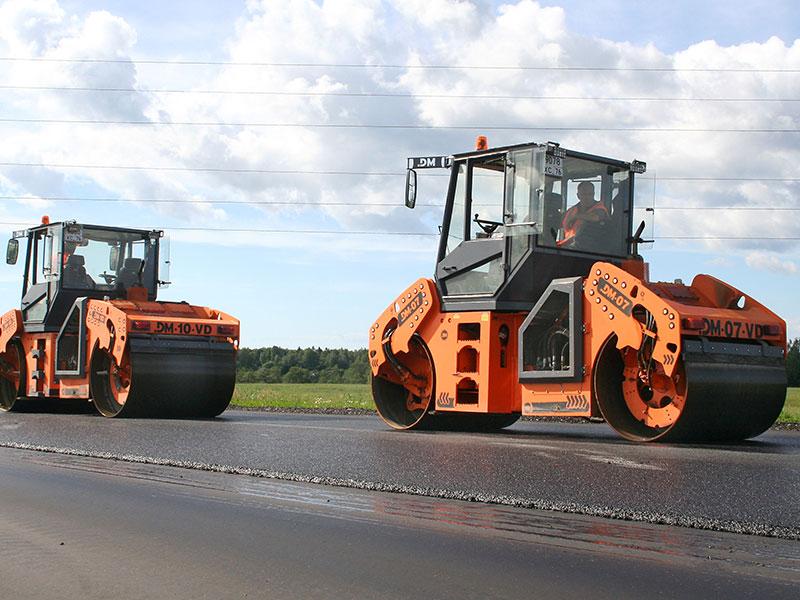 Дорожные катки DM-10-VD и DM-07-VD