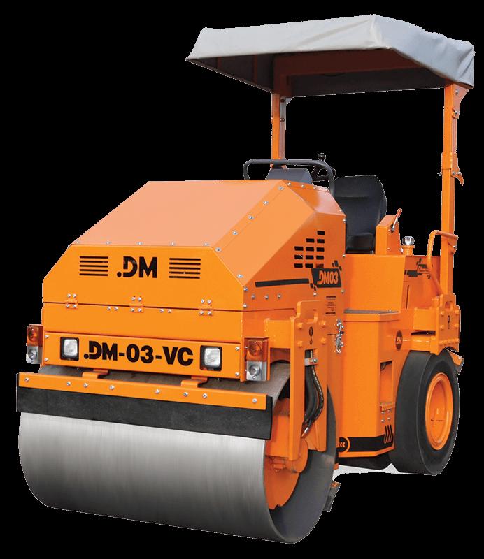 Комбинированный тротуарный каток DM-03-VC