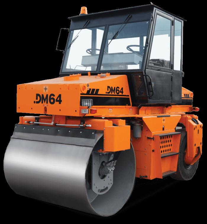 Каток дорожный комбинированный DM-64