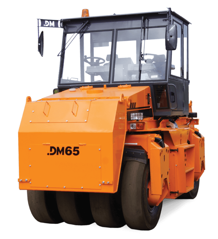 Каток дорожный пневмошинный Пневмоколесный статический дорожный каток DM65