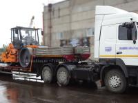 Транспортировка дорожного катка DM-13-SD