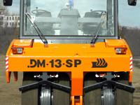 Пневмоколесный дорожный каток DМ-13-SP вид спереди
